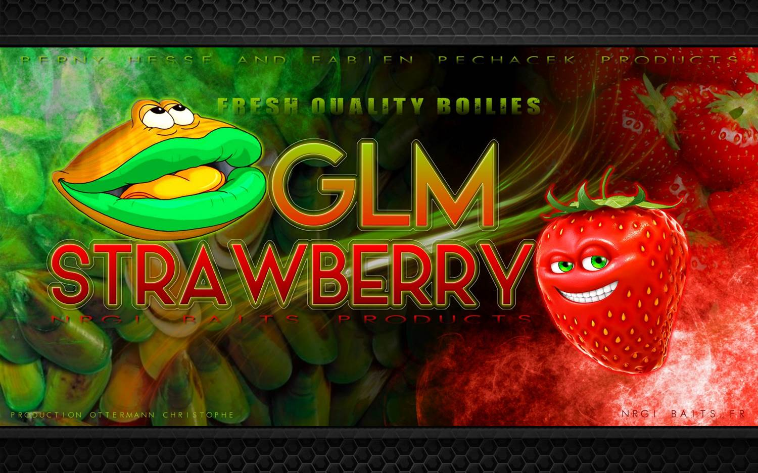 Gamme GLM Strawberry